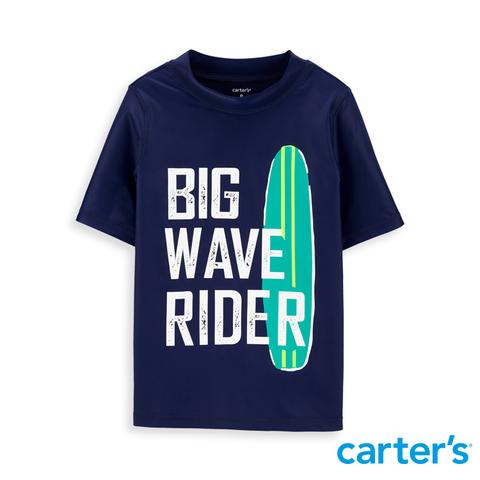carter's 率性英文印圖泳衣  (5-8)