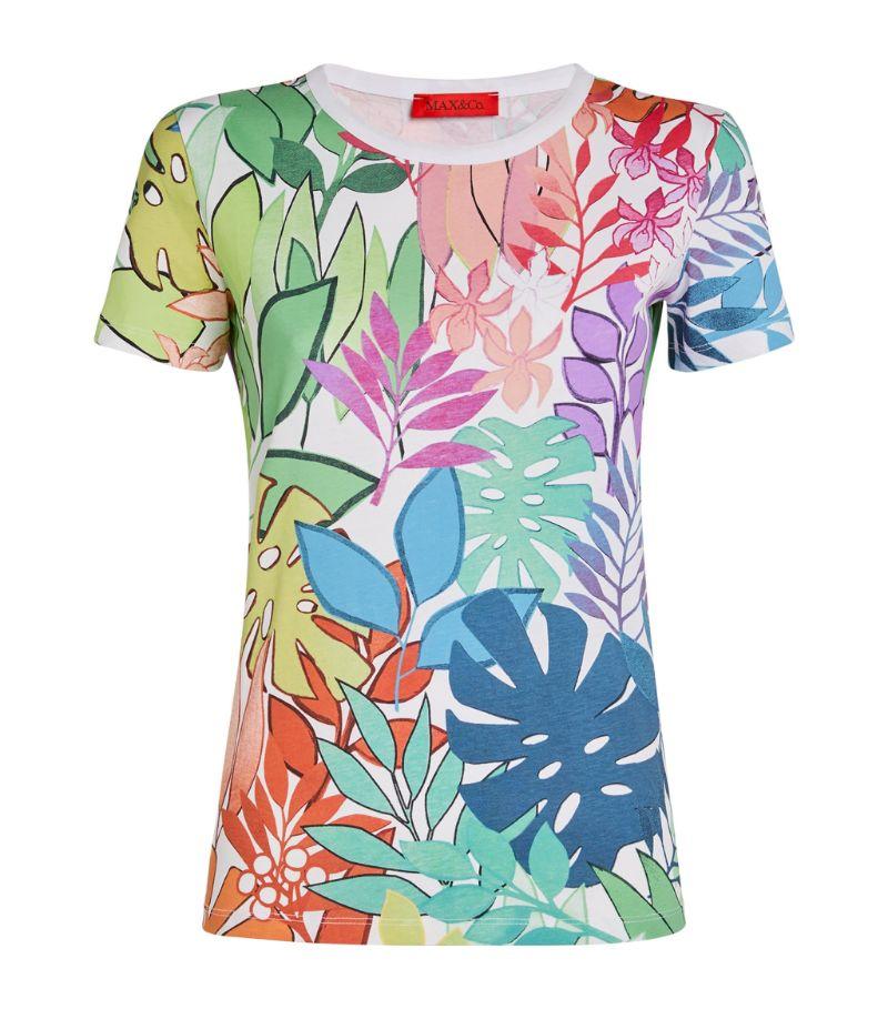 Max & Co. Botanical Print T-Shirt