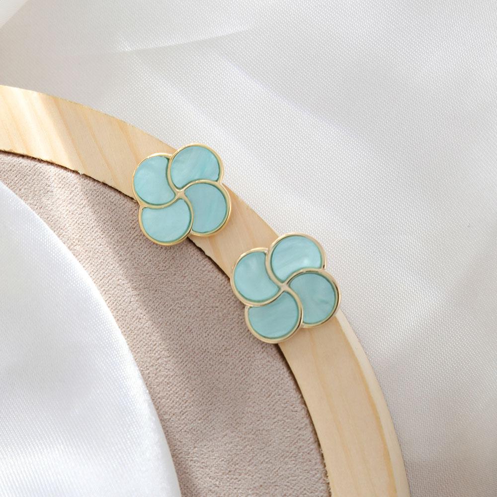 [韓國流行耳環]精靈甜美可人多色耳環 3色 ER00194