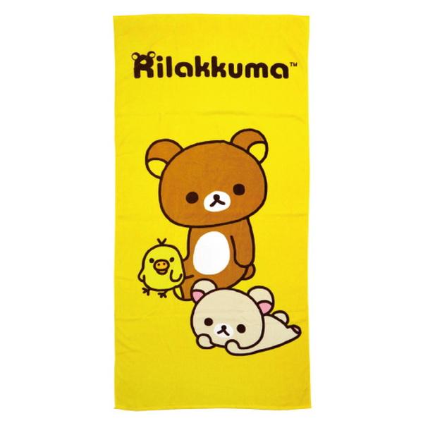 拉拉熊好夥伴浴巾【康是美】