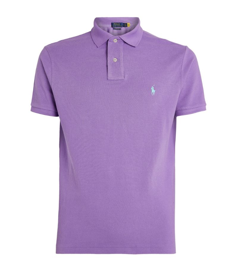 Polo Ralph Lauren Cotton Mesh Custom-Fit Polo Shirt