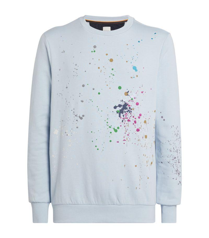 Paul Smith Paint Splatter Sweatshirt