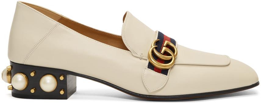 Gucci 白色 Peyton 乐福鞋