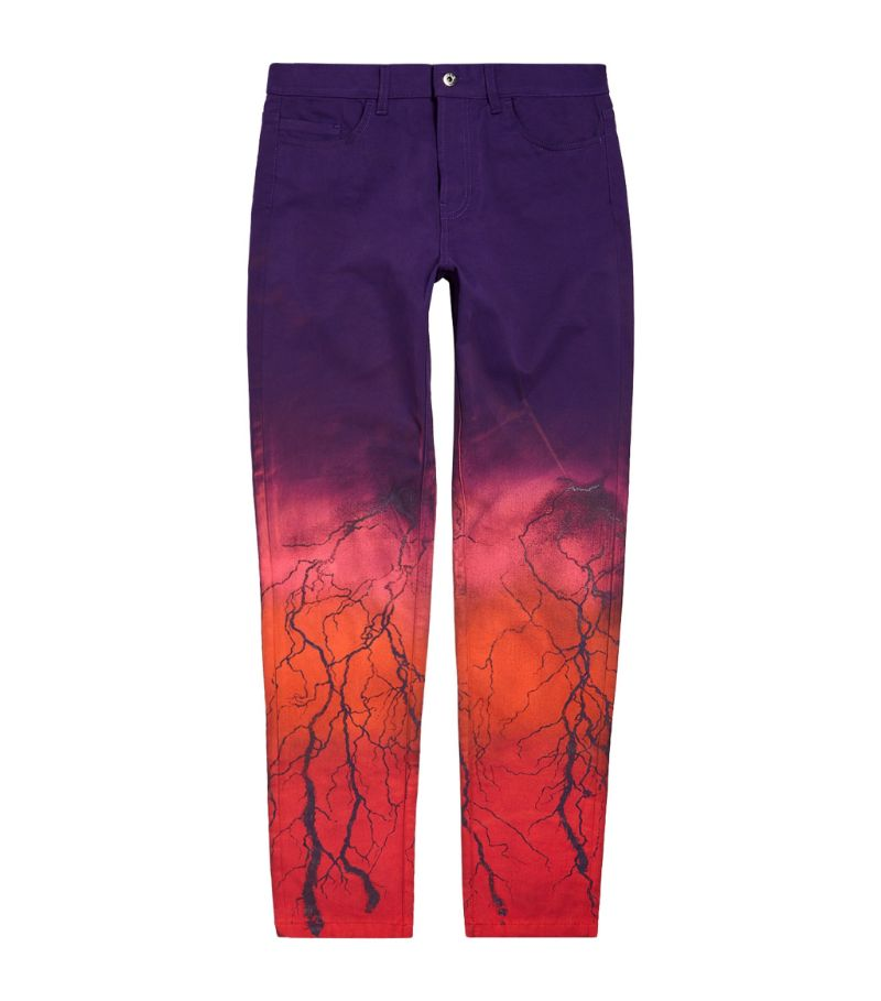 Mjb Marc Jacques Burton Ombré Lightning Skinny Jeans