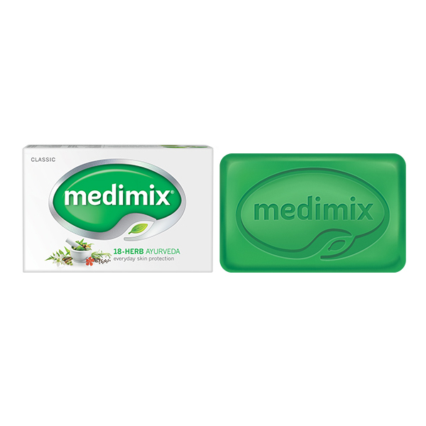 MEDIMIX 印度綠寶石美肌皂-草本 125g【康是美】