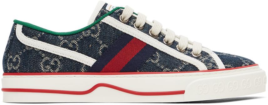 Gucci 蓝色 Gucci Tennis 1977 运动鞋