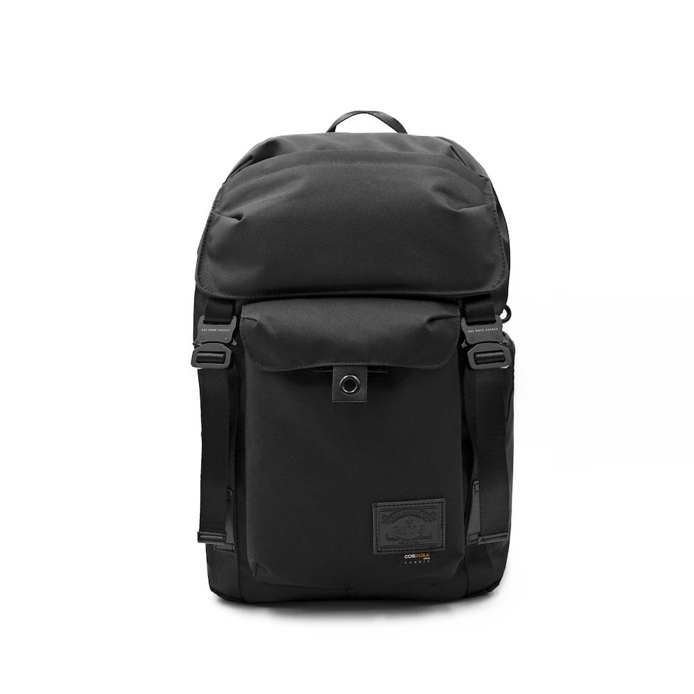 【母親節限定9折】TT01空軍包 軍感cordura機能筆電後背包 內附可拆卸腰包 黑色