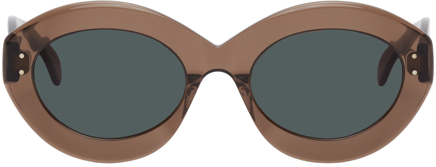 ALAI A 棕色猫眼太阳镜