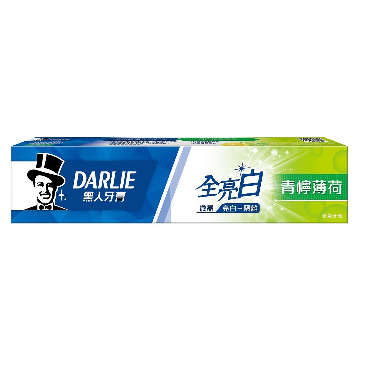 黑人全亮白牙膏青檸薄荷140g【康是美】