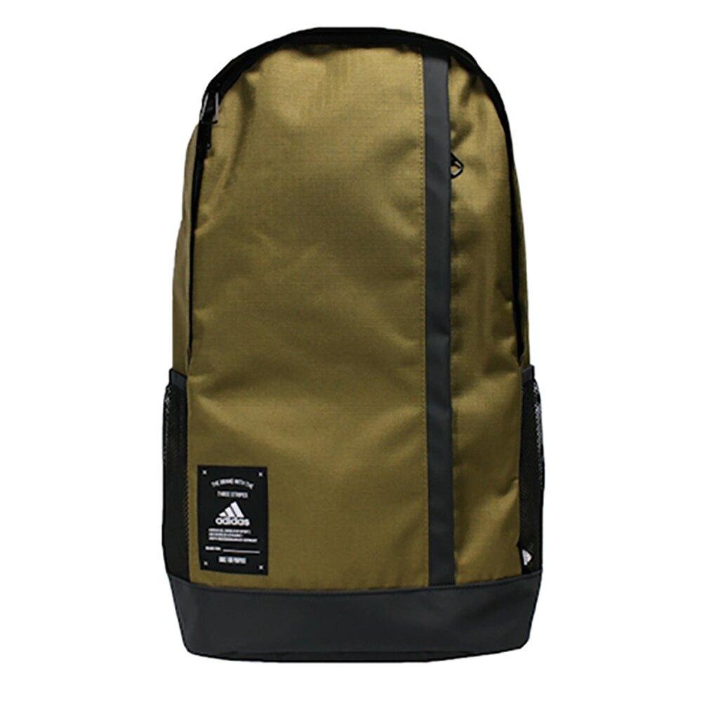 【全館滿額88折】ADIDAS BB BP 後背包 雙肩 拉鍊前袋 水壺袋 綠【運動世界】GN2057