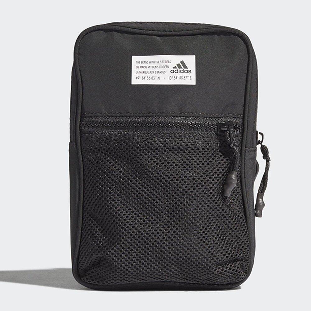 ADIDAS ORGANIZER M 側背包 休閒 隨身 斜背包 可拆卸 黑【運動世界】GL0913