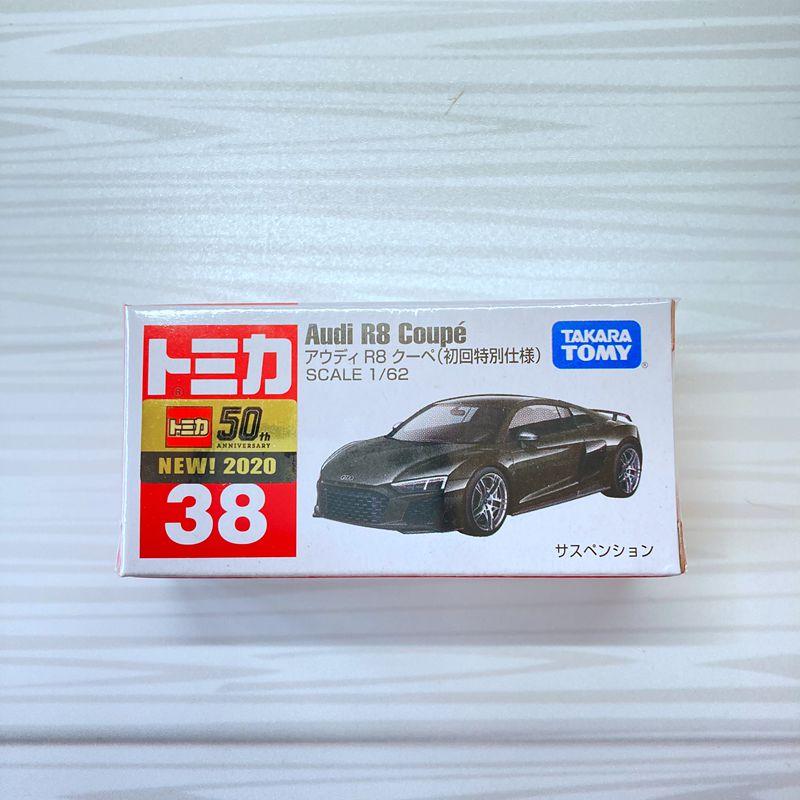 日版 AUDI R8 Coupe' 初回特仕TOMICA AUDI R8 TOMICA 多美 日本進口