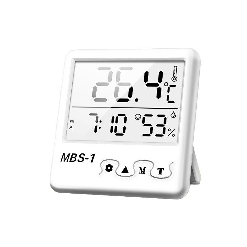 多功能溫濕度萬年曆鬧鐘 多規格 測量精準 溫度計 溼度計 年月日時鐘 電子鐘 數位鐘 床頭鐘【Q0301】《約翰家庭百貨