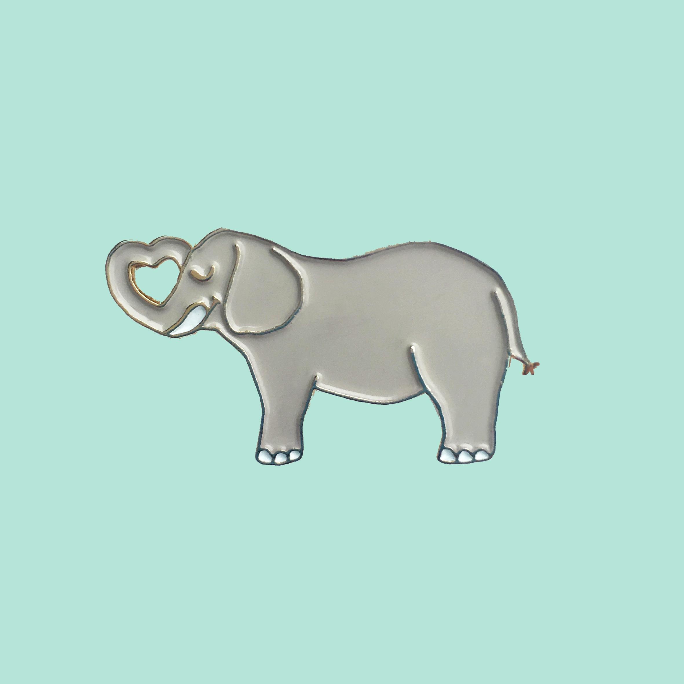 Elephant 徽章