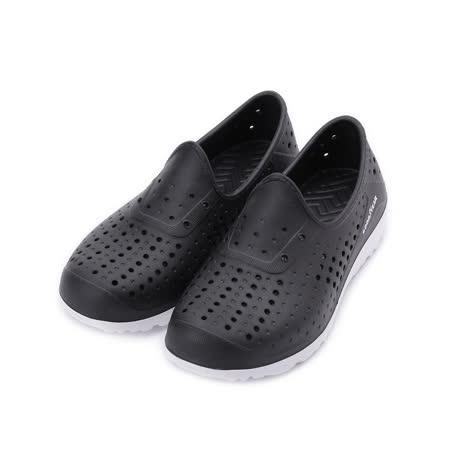 GOODYEAR 多功能洞洞懶人鞋 黑 GAKP08900 中大童鞋