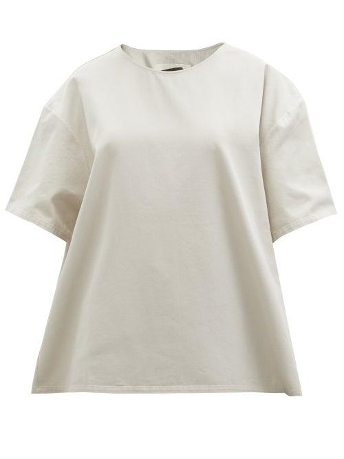 Birkenstock X Toogood - The Painter Cotton-twill T-shirt - Womens - Cream