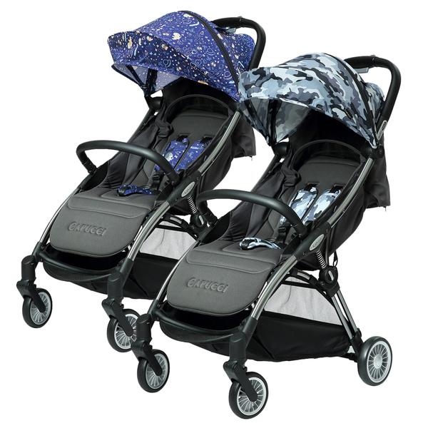 美國Capucci卡普奇嬰兒推車|可登機摺疊推車-太空旅行
