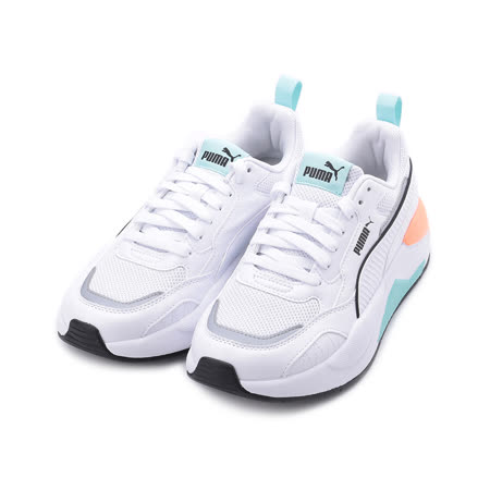 PUMA X-RAY 2 SQUARE 復古運動鞋 白綠橘 373108-17 女鞋
