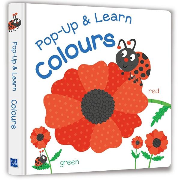 《 幼福出版 》Pop-Up & Learn Colours(驚喜跳跳立體書:顏色跳跳舞) / JOYBUS玩具百貨