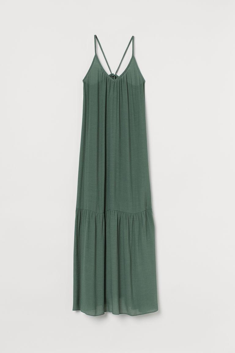 H & M - 海灘長洋裝 - 綠色