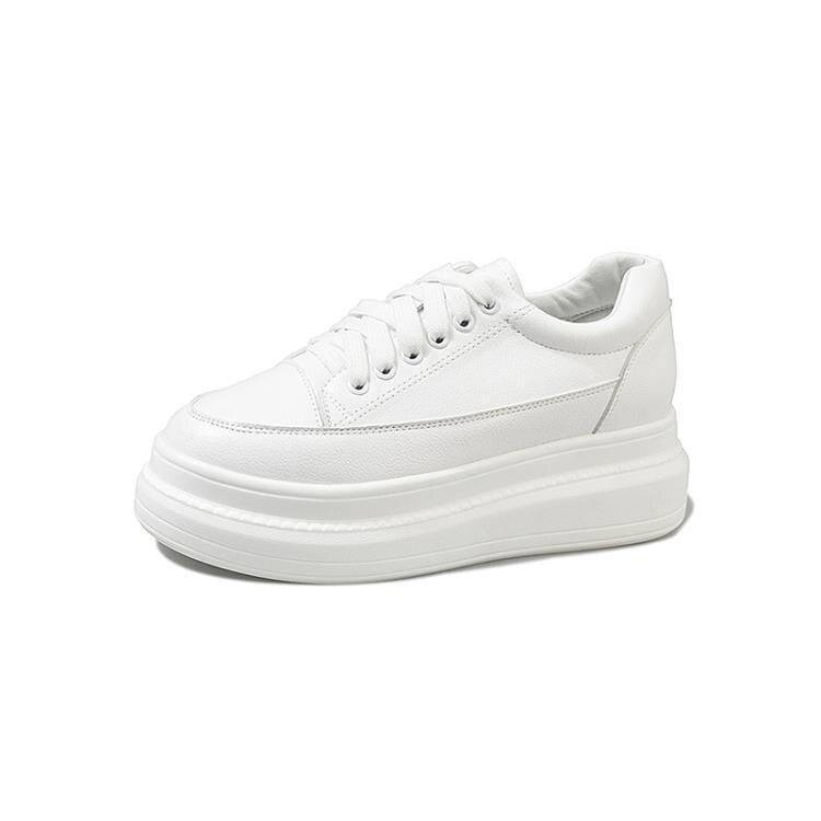 增高鞋 小白鞋女2021春季內增高百搭潮鞋2021爆款厚底鞋子鬆糕白鞋夏