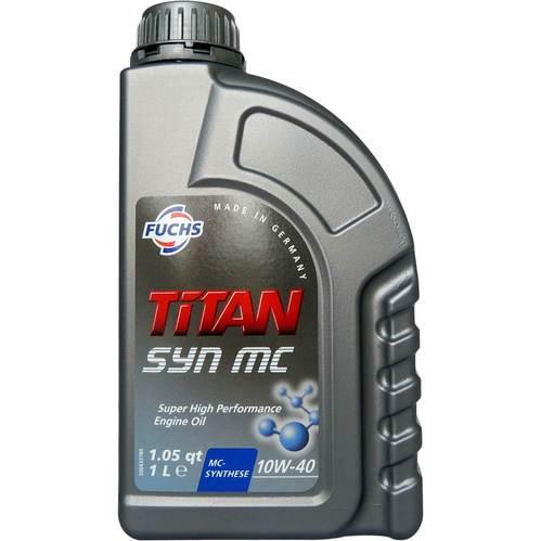 福斯 Fuchs TITAN SYN MC 10W40 SN/CF 高效合成引擎機油