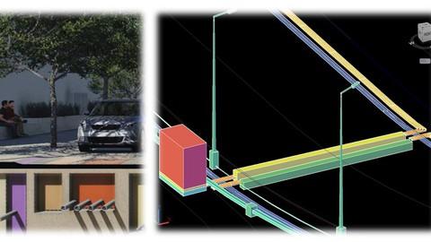 Electrical Infrastrucrure 3D Modeling with Civil 3D/ NAVIS