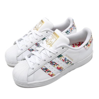 adidas 休閒鞋 Superstar 運動 男鞋 愛迪達 經典款 貝殼頭 球鞋 穿搭 白 彩 FX5540