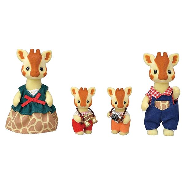 《 森林家族 》長頸鹿家庭組 / JOYBUS玩具百貨