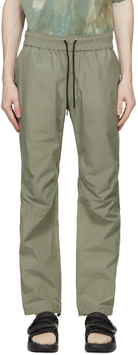 John Elliott 军绿色抽绳长裤