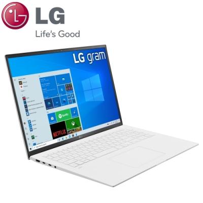 【LG 樂金】Gram 17Z90P 17吋筆電-白色(i5-1135G7/16G/512G+512G SSD/17Z90P-G.AA54C2/特仕版)