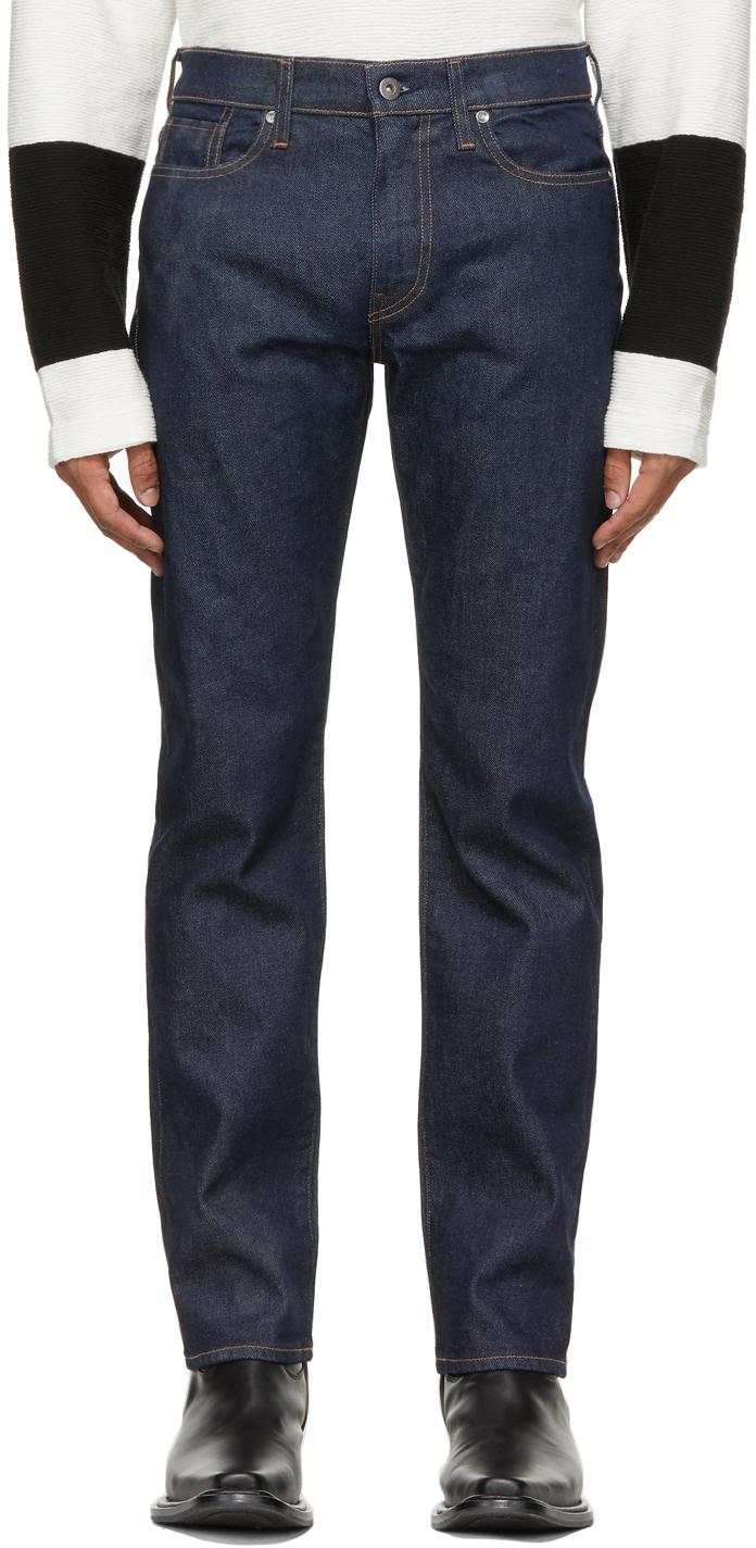 Levi's Made & Crafted 靛蓝色 502 Taper 牛仔裤