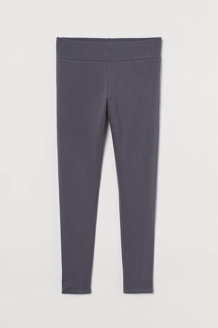 H & M - H & M+ 內搭褲 - 灰色