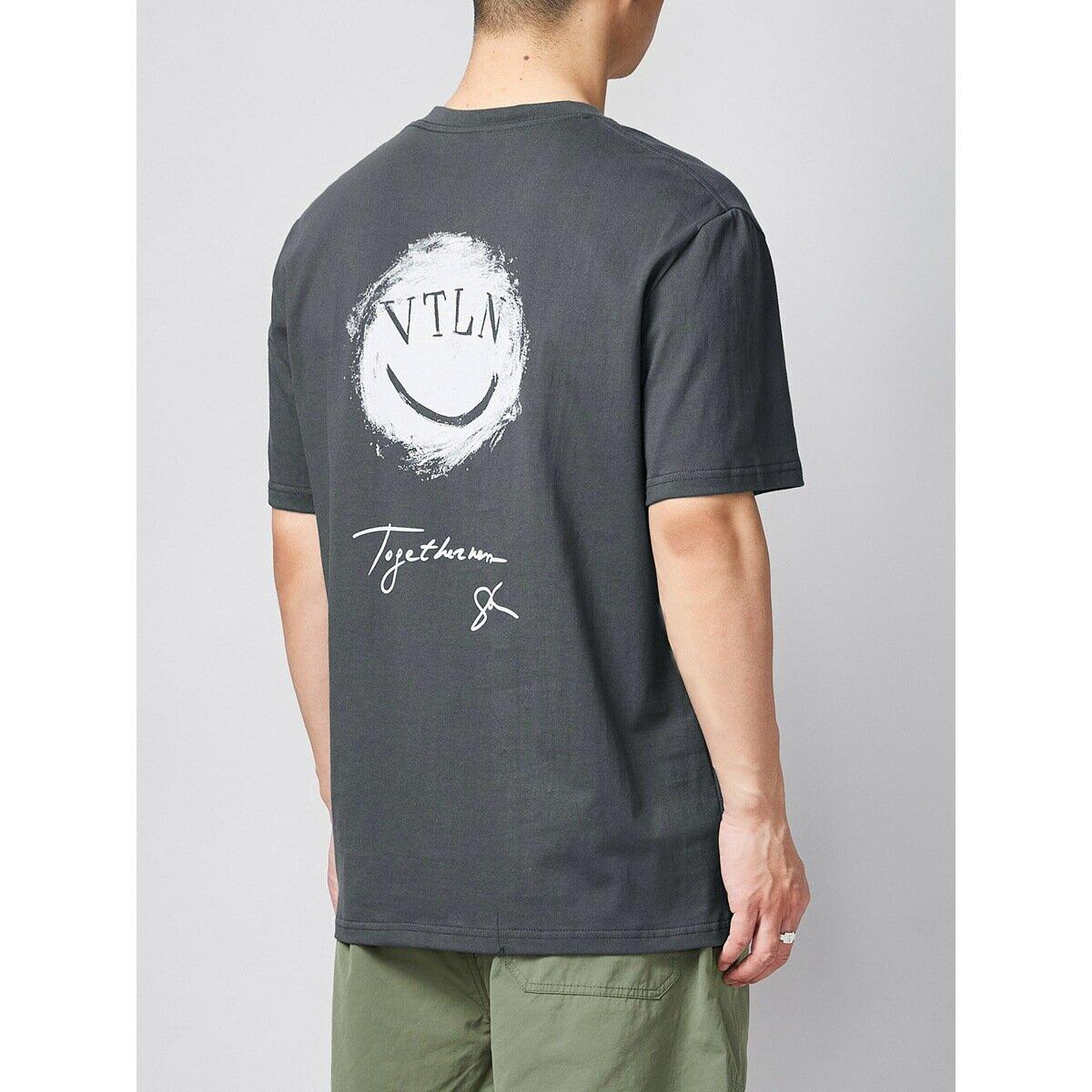 男裝手繪風印花短袖t恤男 2021夏款寬鬆微闊男士體恤