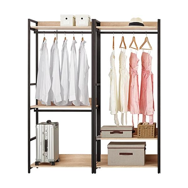 艾麗斯5.2尺組合衣櫥(21CM/628-4)/H&D東稻家居