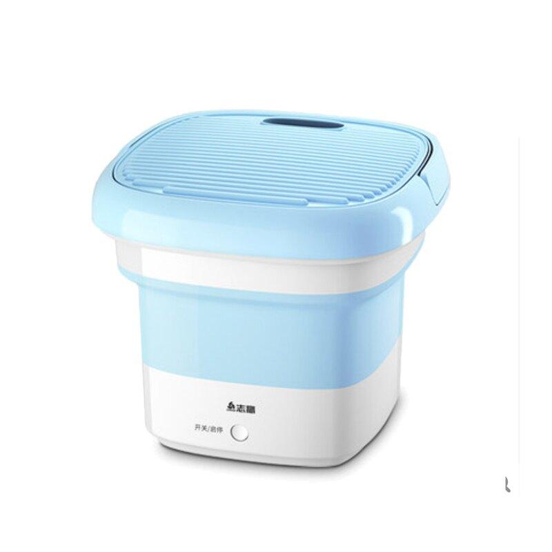 志高110V折疊洗衣機簡易小型充電便攜式旅行宿舍不插電出差小家電