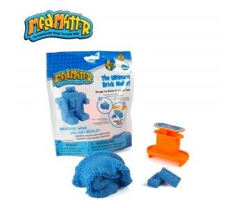 《Mad Mattr》動力沙 MM沙 小積木方塊包(藍) 東喬精品百貨
