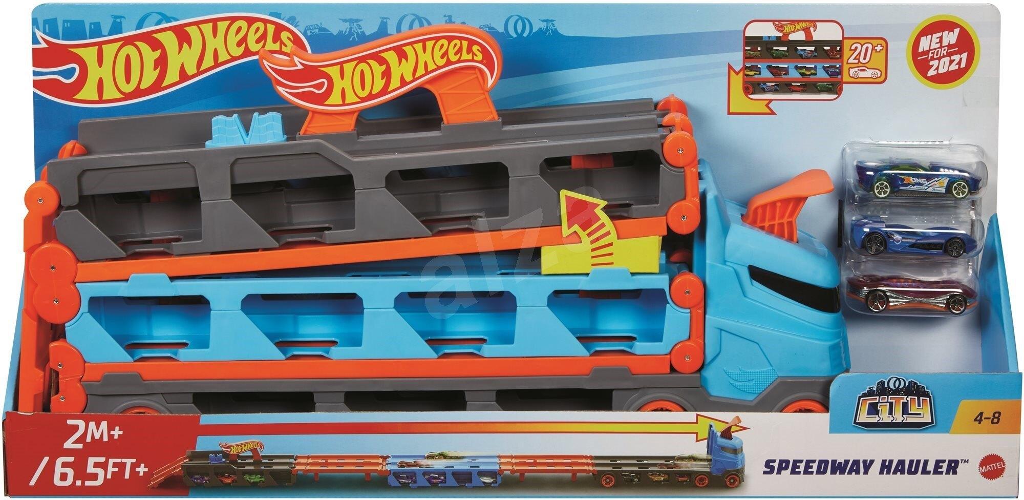 《風火輪Hot Wheels》 摺疊賽道收納卡車 東喬精品百貨