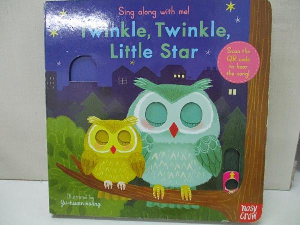 【書寶二手書T1/電玩攻略_B31】聽唱玩童謠遊戲書Twinkle Twinkle Little Star_Yu-hsuan Huang