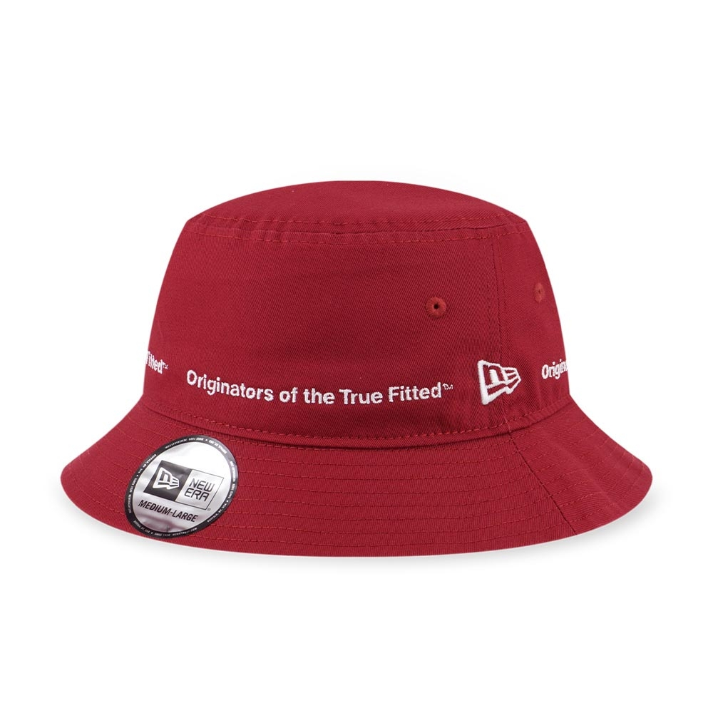 New Era 漁夫帽 紅色
