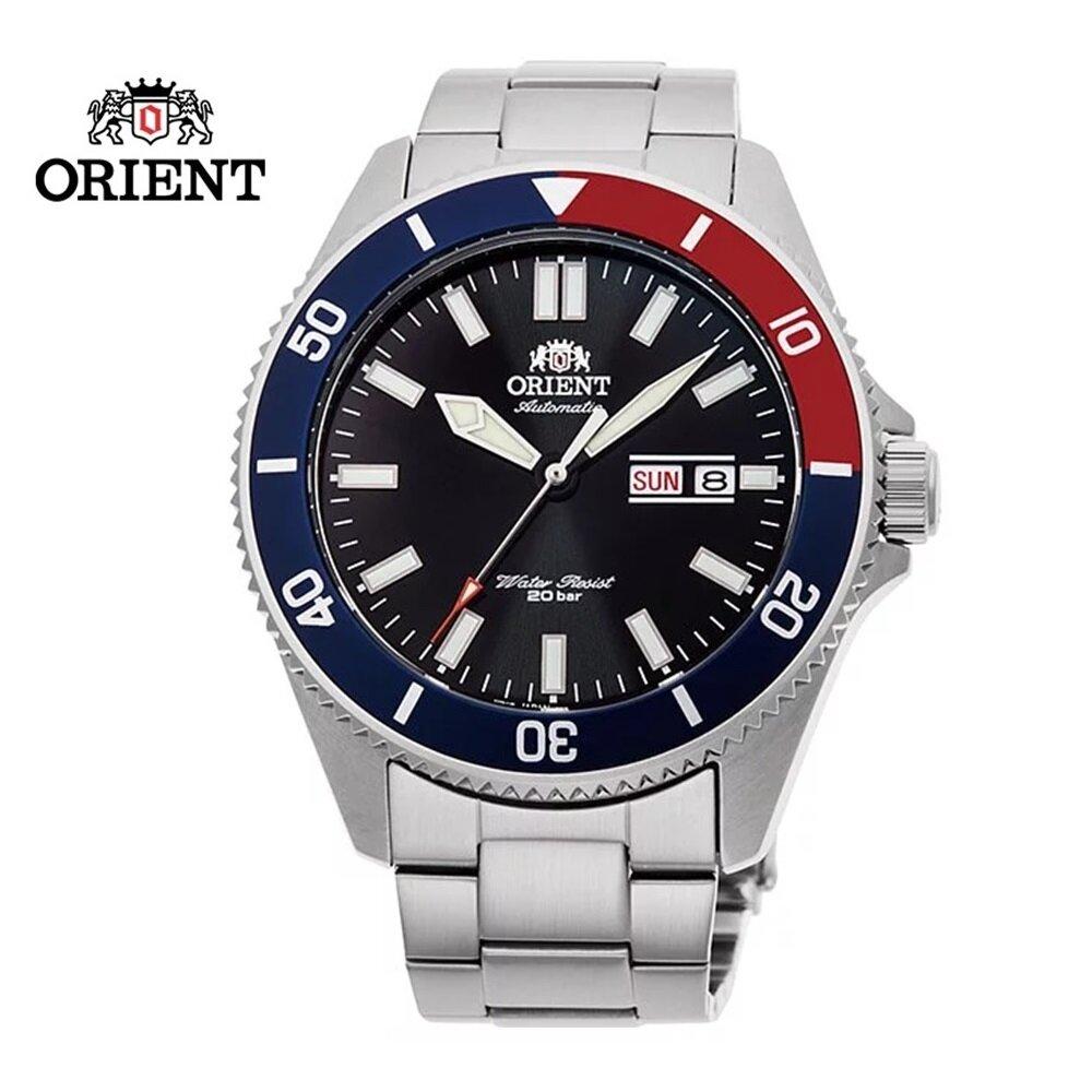 ORIENT 東方錶 WATER RESISTANT系列 200m潛水錶 鋼帶款 RA-AA0912B  黑色 - 44.0 mm