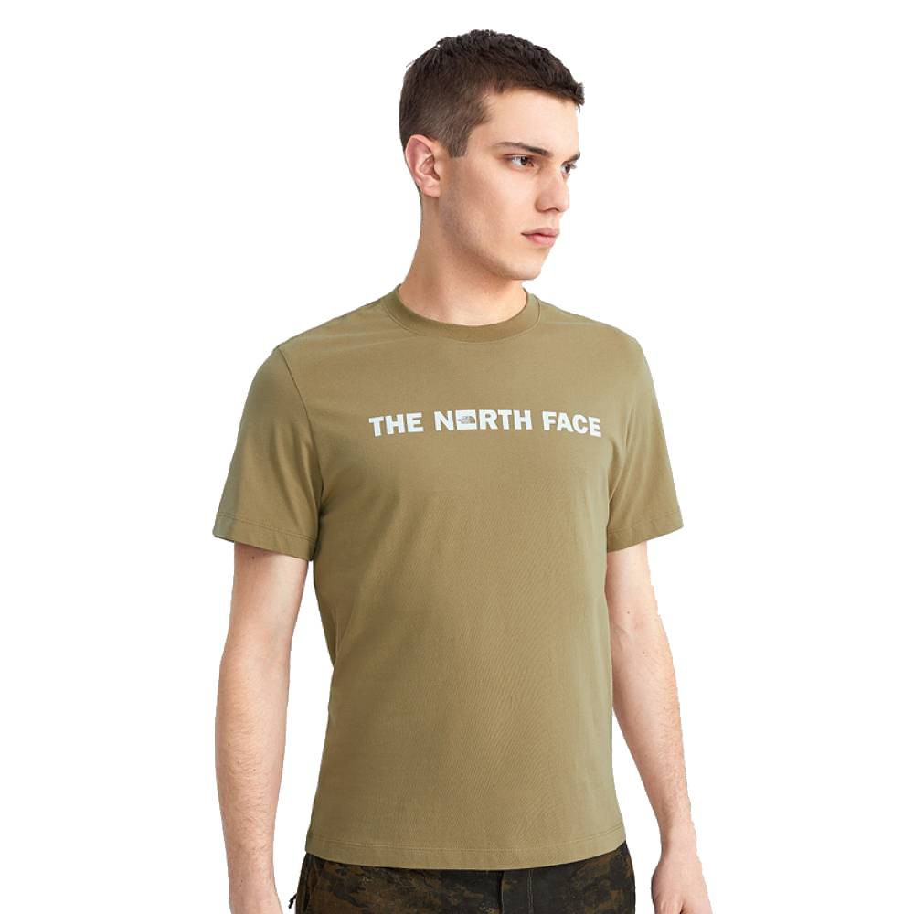 The North Face GRAPHIC TEE 男 短袖上衣 卡其 NF0A5JTSPLX