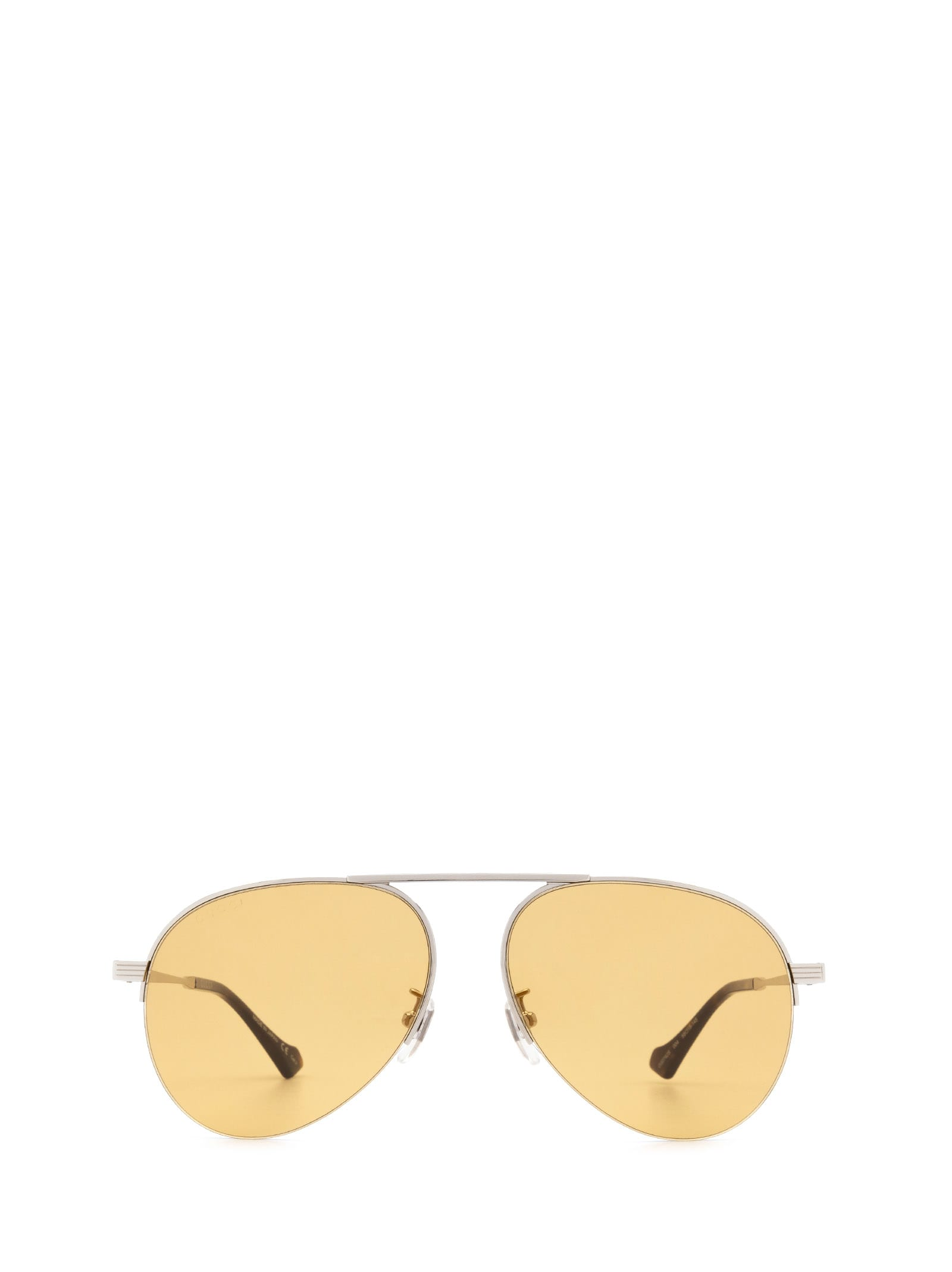 Gucci Gucci Gg0742s Silver Sunglasses