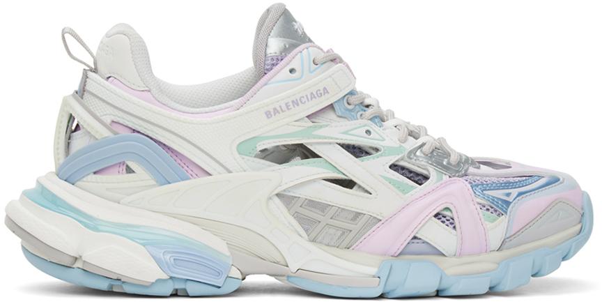 Balenciaga 白色 Track.2 Open 运动鞋