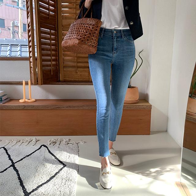 903長腿顯瘦牛仔褲(藍色) [S,M,L,XL]