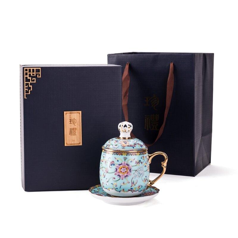 陶瓷杯子帶蓋情侶馬克杯創意家用個人茶杯水杯辦公室咖啡杯禮品杯