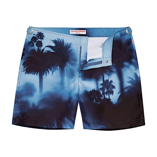 Bulldog Photographic swim shorts