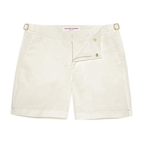 Bulldog Sea Island Mid-Length Cotton Shorts