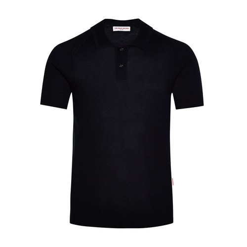 Zack Cotton/silk Tailored Fit Knitted Polo Shirt