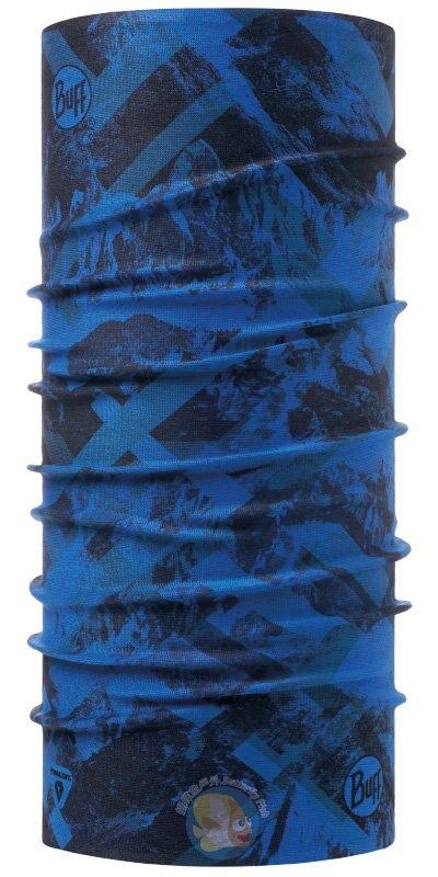 [西班牙製 BUFF] THERMONET 動態恆溫 頭巾 BF117983 峰頂綿延
